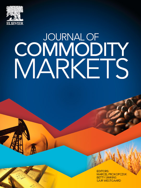 Journal of commodity markets